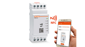 Protection relays with NFC technology and APP